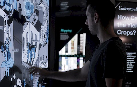 Multitouch interactive experiences for the IBM Think Exhibit in New York City and Epcot Center