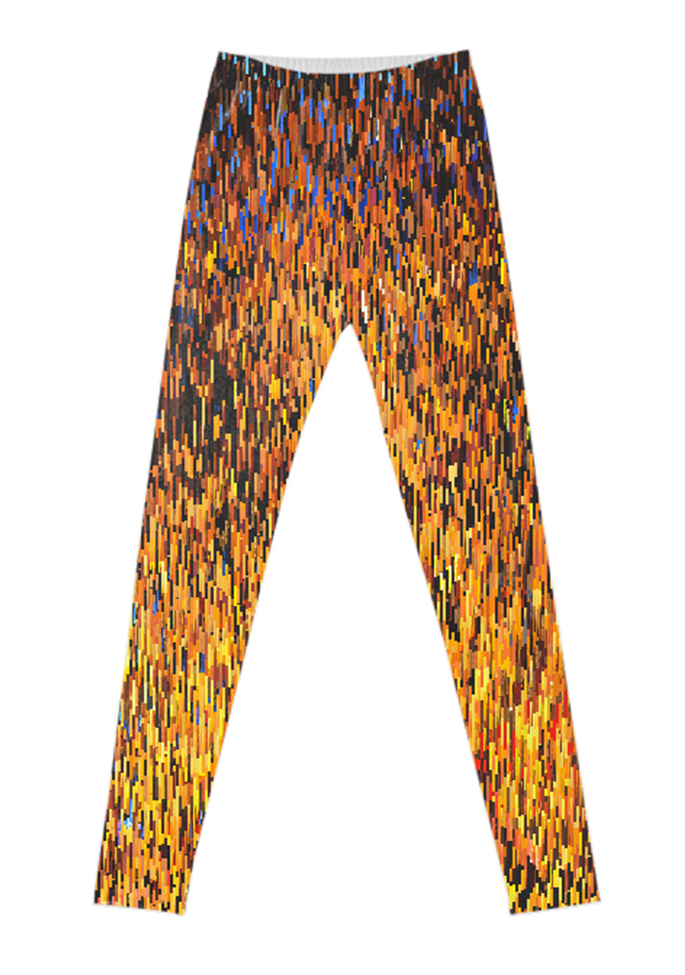 """Fire"" leggings"